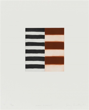 seven mirrors portfolio of 7 by sean scully