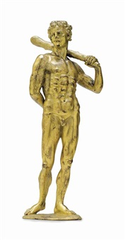 figure of hercules by anonymous-northern europe