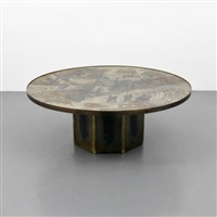 large coffee table by philip and kelvin laverne