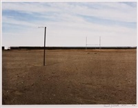 the sports field at hondeklipbaai by david goldblatt