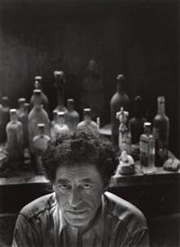 alberto giacometti, paris by arnold newman