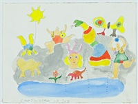 giant fountain of joy by niki de saint phalle