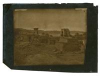 village et temple de béghé nubie by maxime du camp