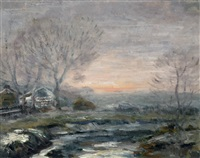 credit river by william edwin atkinson