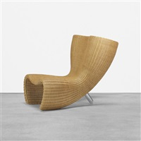 wicker chair by marc newson
