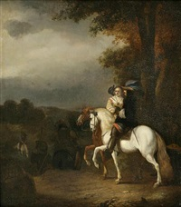 a romantic ride by nicolaes ficke