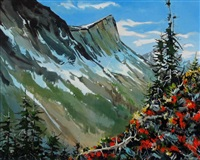 swayback color (mt. albert edward) by allan dunfield