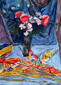 bouquet de fleurs by emile sabouraud