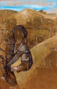 bedouin woman by yigal ozeri