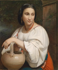 portrait einer jungen römerin by william adolphe bouguereau