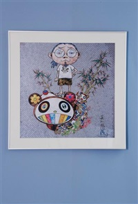 i met a panda family by takashi murakami