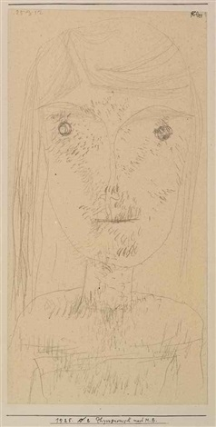 physiognomisch nach mb physiognomic after mb by paul klee