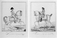 napoleon on horseback by auvrest