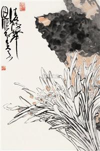 水仙图 by tian yuan