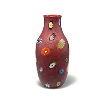 vase murrine battuto by ermanno toso
