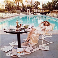 faye dunaway, hollywood by terry o'neill