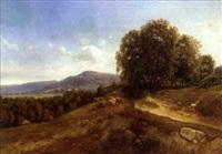 vaches sur les collines by jean-alexis achard