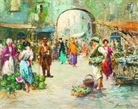 mercato a porta capuana by roberto scognamiglio