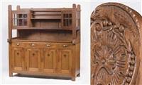 opus 17 side-cabinet by jacob pieter van den bosch