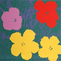 flowers 6, sunday b. morning by andy warhol