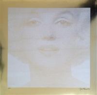 marilyn - gold by bert stern