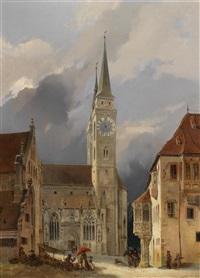 nürnberg, marktplatz vor st. sebald by michael neher