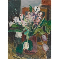 floral still life by marjorie (jori) elizabeth thurston smith
