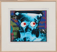 visual chemistry - gas mask by john waters