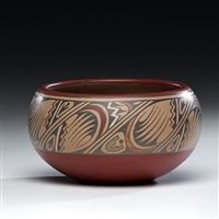 bowl by margaret and luther gutierrez