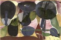 three mushrooms by roberto juarez
