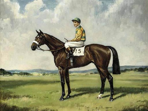 harden ridden with charlie smirke up in the colours of sir victor sassoon by richard anscomb