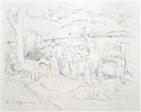 rudolf grossmann (portfolio of 12 w/colophon) by rudolf grossmann