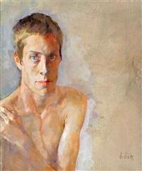 a young boy by amnon david ar