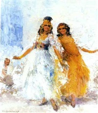 les danseuses ouled naïl by william lambrecht