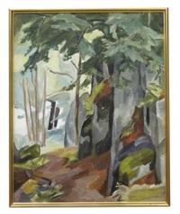 skogsstig om bergvägen, skaftö, vägeröd dalar by birger simonsson