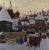 russian fortress by vladimir nikolaevitch aralov