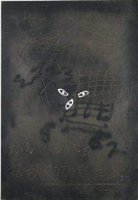 cartó iii by antoni tàpies