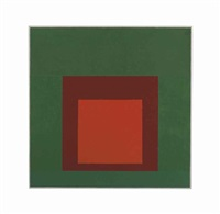 study for homage to the square: established by josef albers
