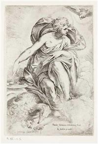 saint jean l'évangéliste by paolo farinati