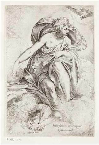saint jean lévangéliste by paolo farinati