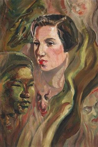mystic portrait by austin osman spare