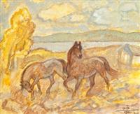 hästar på frösön by acke aslund