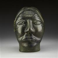 woman's head by daniel oweetaluktuk
