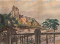 l'église de gros-rouvre by henri le fauconnier