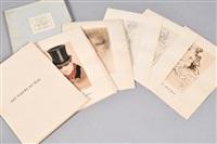 série de 30 héliogravures pour les fleurs du mal de charles baudelaire (30 works) by armand rassenfosse