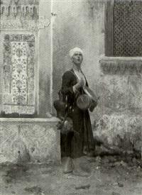 an arabian vendor by albert emile artigue
