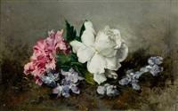 bodegón de flores by sebastian gessa y arias