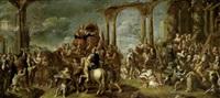 trionfo di un imperatore romano by antonio stancari