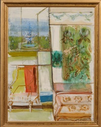 interior scene by fannie hillsmith