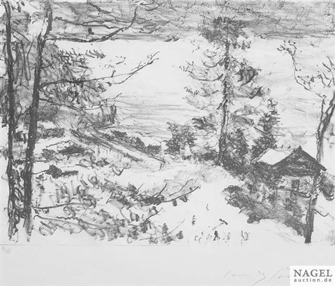 seeküste from vorfrühling in den bergen by lovis corinth